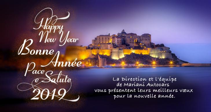 Pace è Salute - Happy New Year - Bonne année 2019