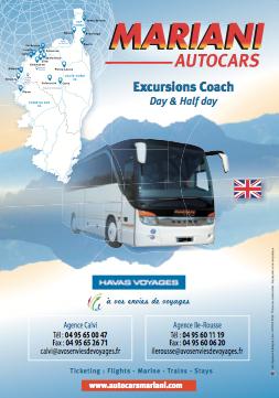 Brochures Autocars Mariani : Programmes et tarifs des excursions en autocars